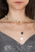 Collier Beige BJ261
